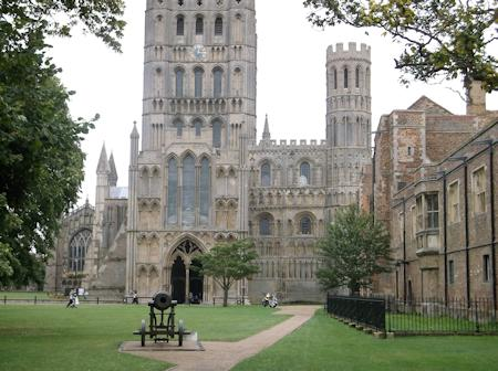 Nearby Ely Cathedral