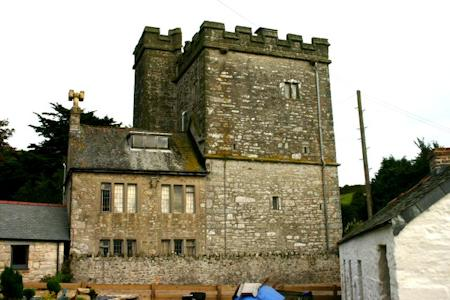 Pengersick Castle tower and extension