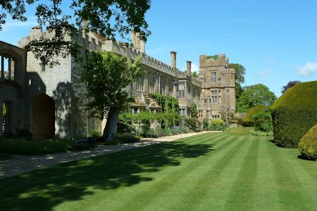Lawns and castle at Sudeley