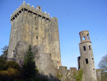 Blarney Castle keep and 18th Century tower