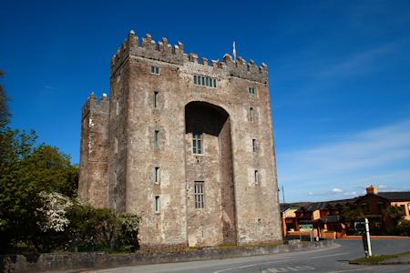 Bunratty's tall keep