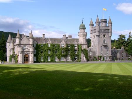 South front of Balmoral Castle