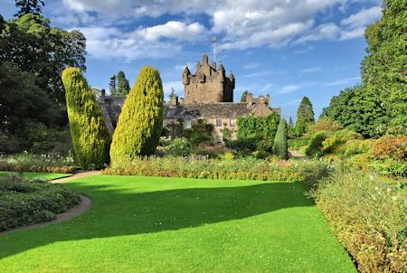 The castle and gardens at Cawdor