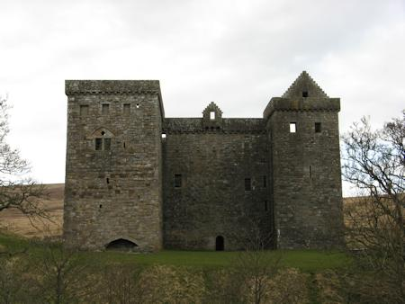 The tower at Hermitage Castle
