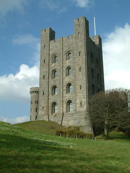 One of the towers at Penrhyn